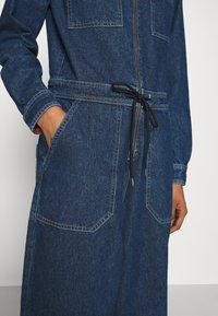 Tommy Jeans - ZIP BOILER SUIT - Jumpsuit - blue - 4