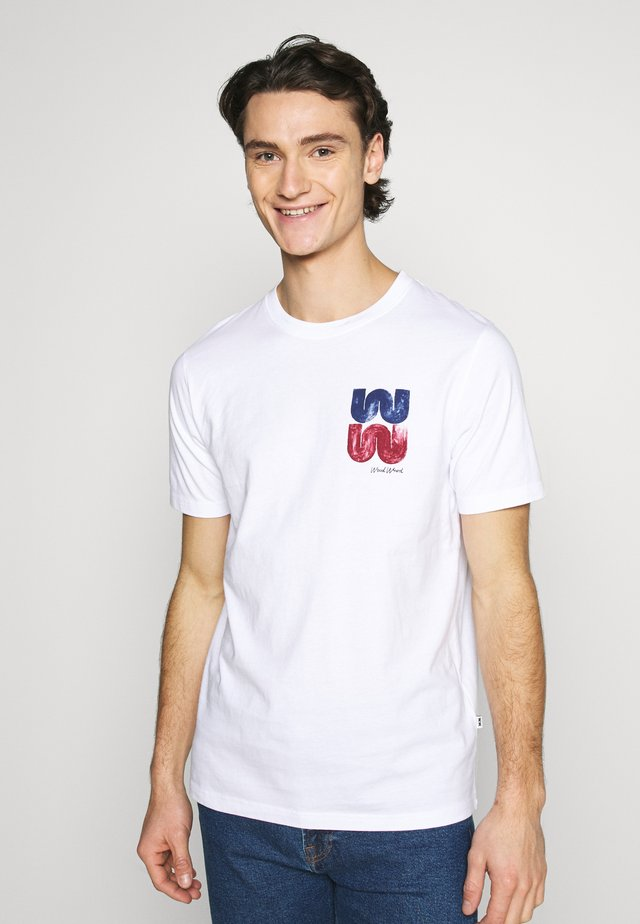 SAMI  - T-shirt con stampa - bright white