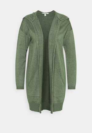HOOD - Strickjacke - khaki green