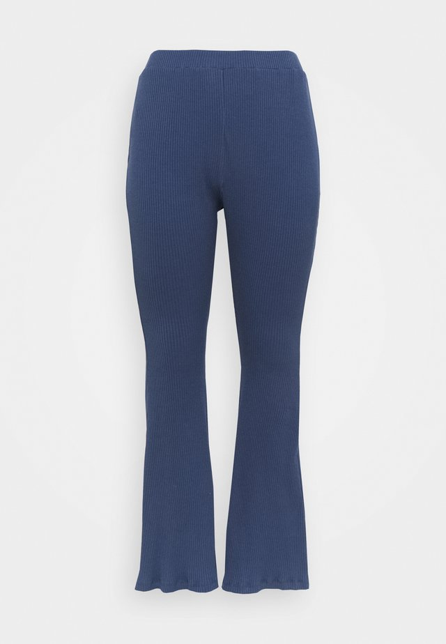 FLARE TROUSERS - Bukse - teal