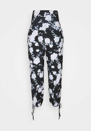 PANT - Broek - black/white