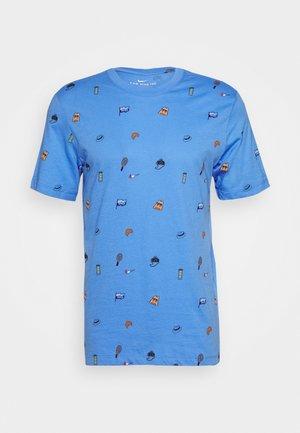 TEE - Print T-shirt - royal pulse