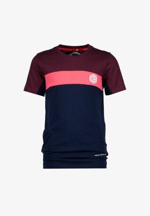 HIFFER - Print T-shirt - dark blue