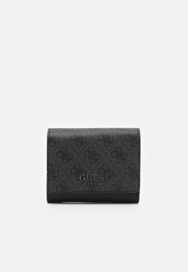 Guess - MIKA SMALL TRIFOLD - Portefeuille - coal
