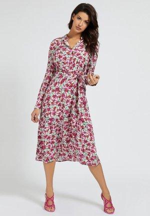 SELVAGGIA DRESS - Blousejurk - mehrfarbe rose