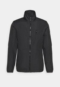 Jack & Jones - JCOCARSON LIGHT JACKET COLLAR - Light jacket - black - 0