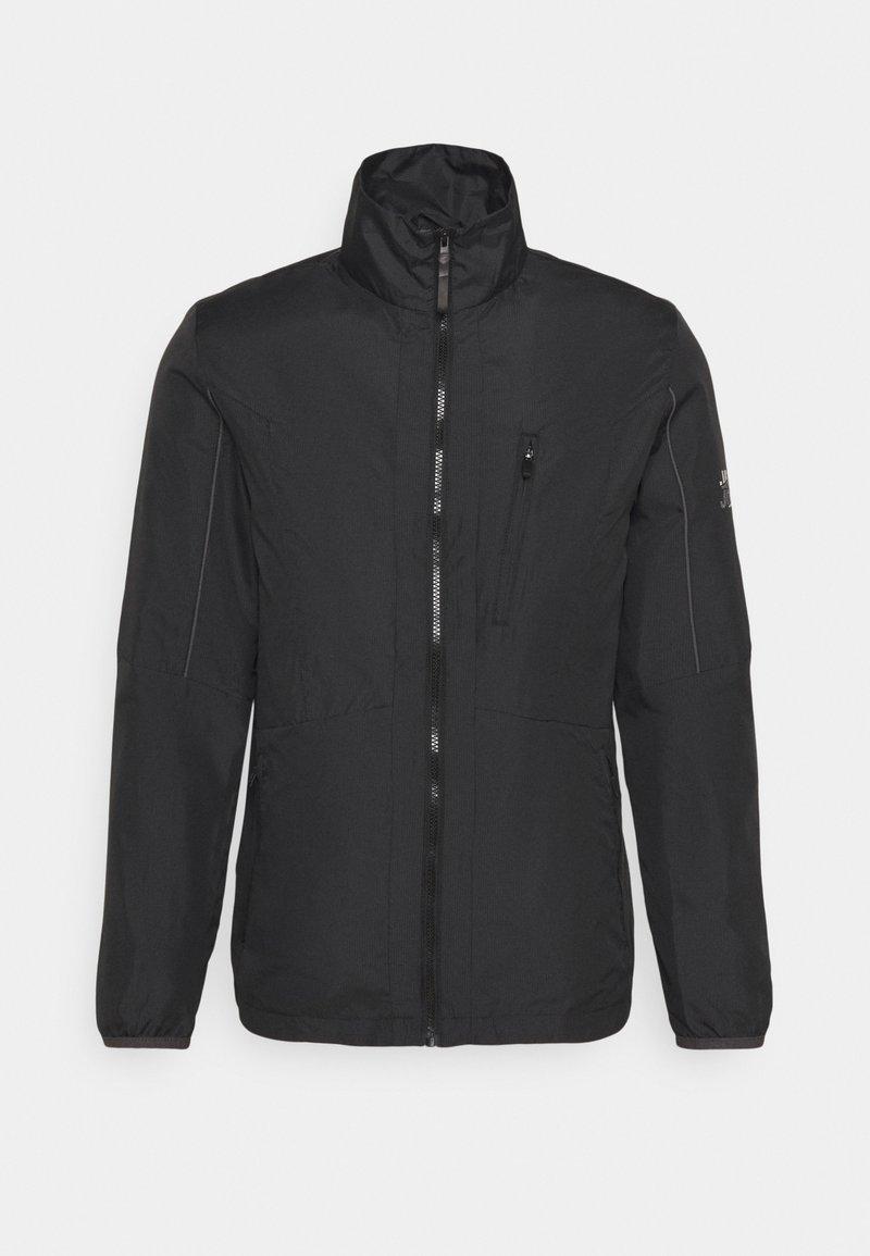 Jack & Jones - JCOCARSON LIGHT JACKET COLLAR - Light jacket - black