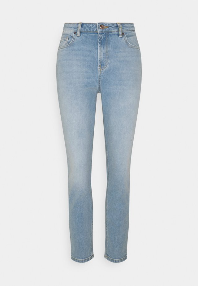 PCLEAH MOM - Slim fit jeans - light blue denim