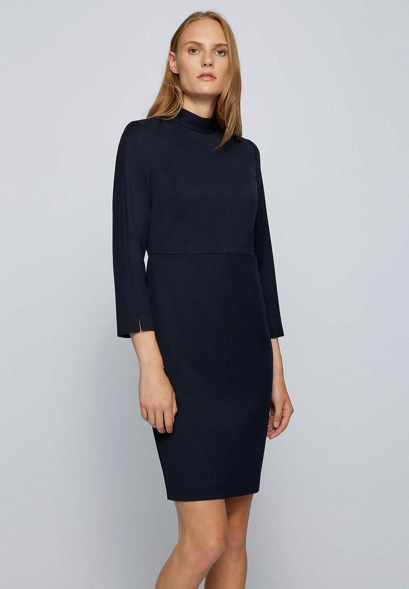 BOSS - DAPIMA - Shift dress - open blue