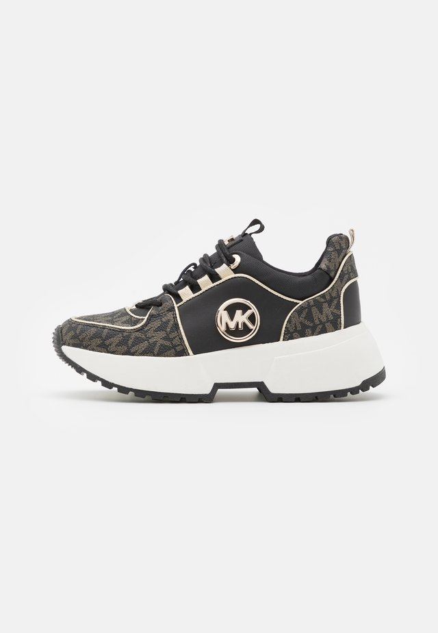 ZIA COSMO SASHA - Trainers - black/soft gold