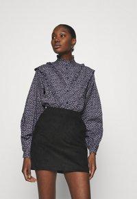 Résumé - CHELSEA BLOUSE - Button-down blouse - navy - 0