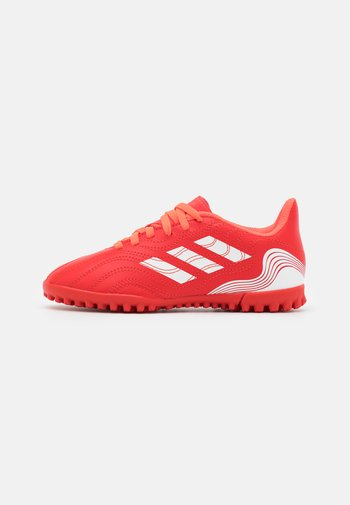 COPA SENSE.4 TF UNISEX - Astro turf trainers - red/footwear white/solar red