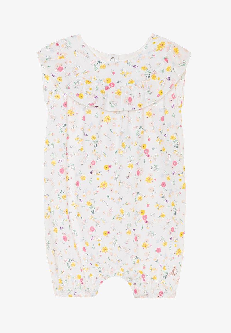 Petit Bateau - Pijama de bebé - marshmallow/multicolor