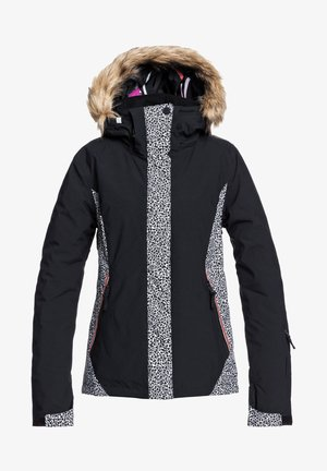 JET SKI - Snowboard jacket - true black pop animal