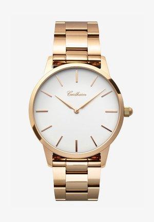 FREDERIK V 40MM - Horloge - rose gold-white