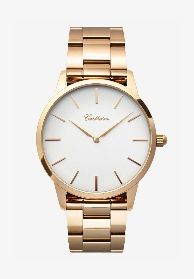 Carlheim - FREDERIK V 40MM - Montre - rose gold-white