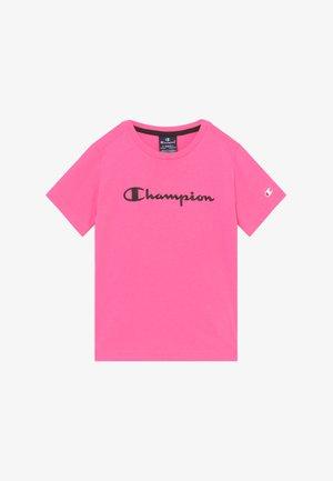 LEGACY AMERICAN CLASSICS - Triko spotiskem - neon pink