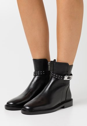 Bottines - black/silver