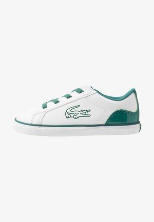 LEROND - Slip-ons - white/green