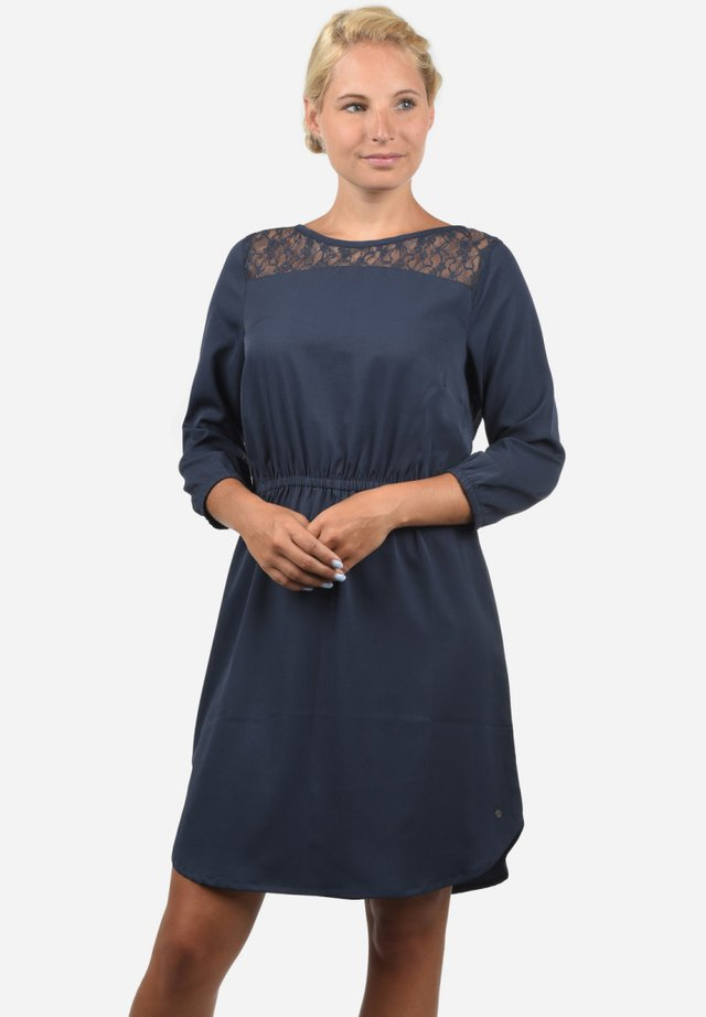 AMORA - Korte jurk - mood indigo
