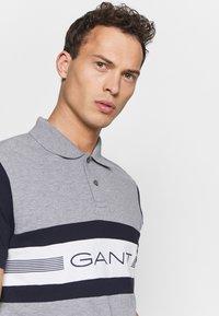 GANT - Polo shirt - grey melange - 3