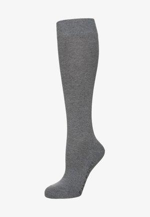 Knæstrømper - light grey melange