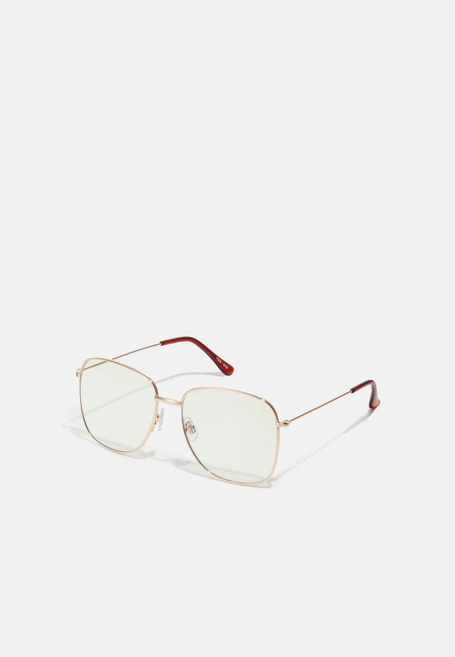 BLUE LIGHT GLASSES - Overige accessoires - gold-coloured