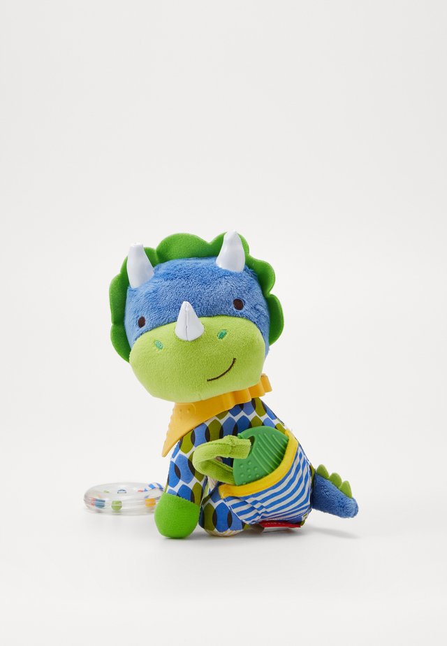 BANDANA BUDDIES DINO - Cuddly toy - multi-coloured/blue