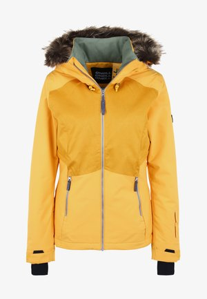 HALITE JACKET - Snowboard jacket - old gold