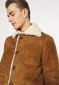 Schott - ARKANSOS - Leather jacket - rust - 3