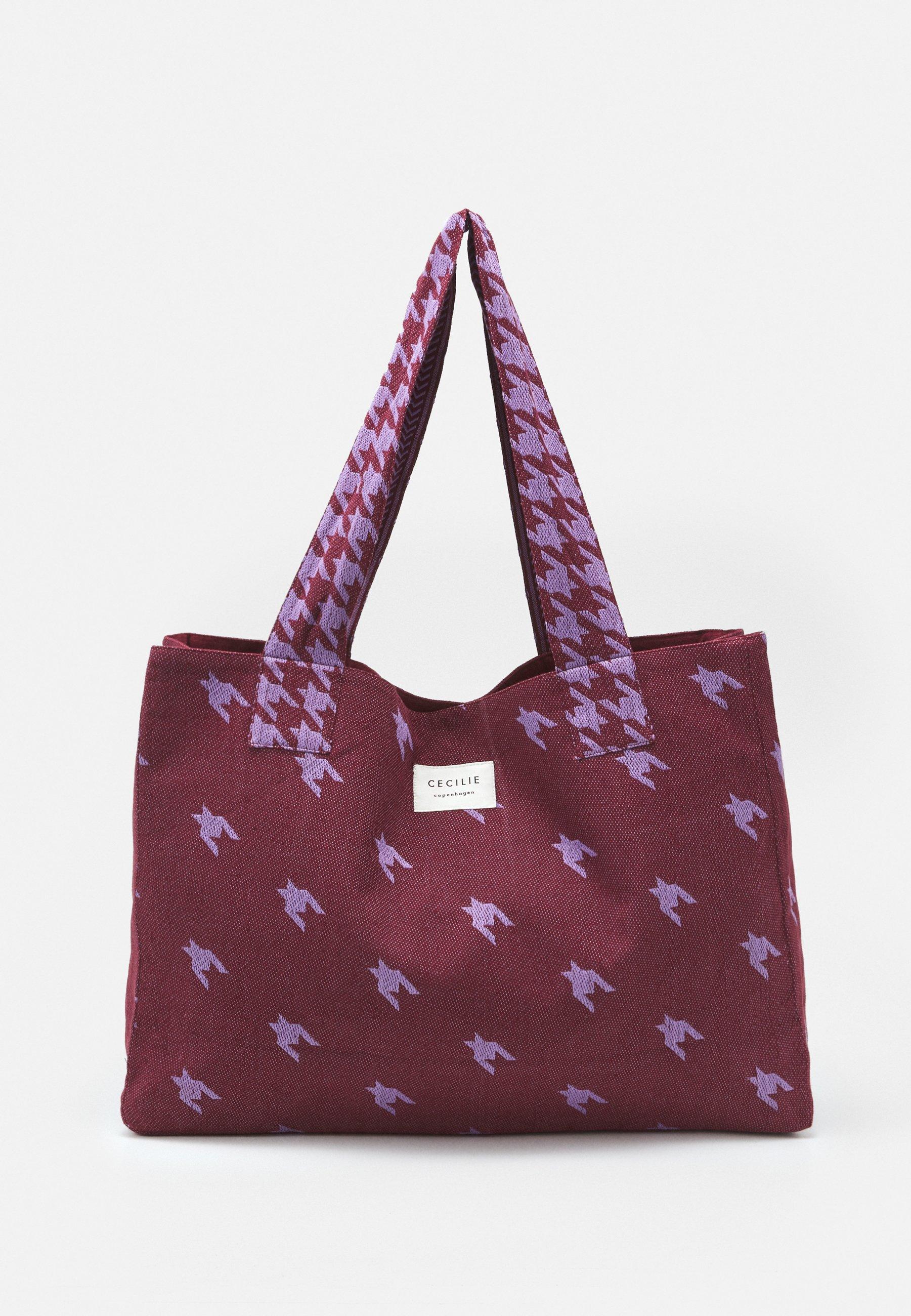 Women LARGE DOGTOOTH MIX - Tote bag