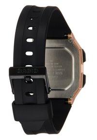 Casio - Digital watch - rose gold-coloured - 3