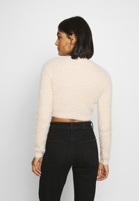 Ivyrevel - CROPPED FUZZY - Jumper - natural - 2