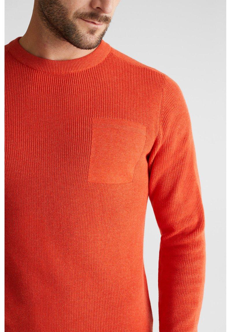 Esprit Strickpullover - orange IrR5Zb