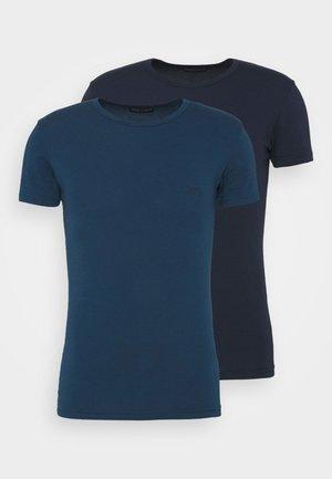 2 PACK - Undershirt - marine/abisso