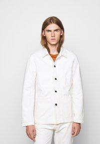 CLOSED - WORKER JACKET - Denim jacket - ivory - 0
