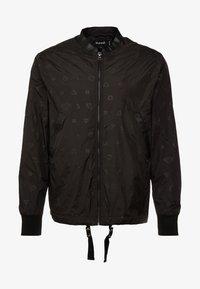 Diamond Supply Co. - MONOGRAM JACKET - Summer jacket - black - 4