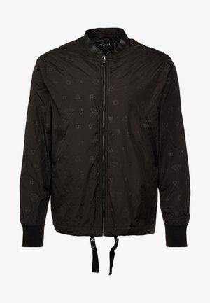 MONOGRAM JACKET - Summer jacket - black