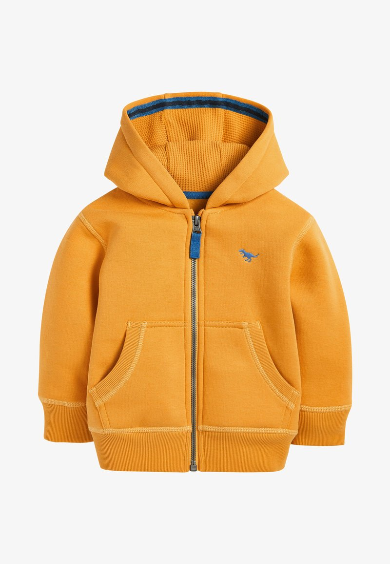 Next - ESSENTIAL - Zip-up hoodie - yellow