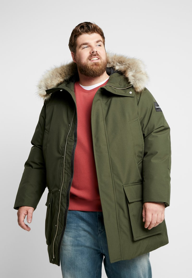 Calvin Klein - LONG PREMIUM - Winter coat - green
