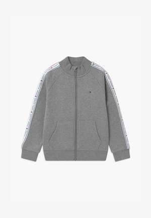 TAPE FULL-ZIP - veste en sweat zippée - grey