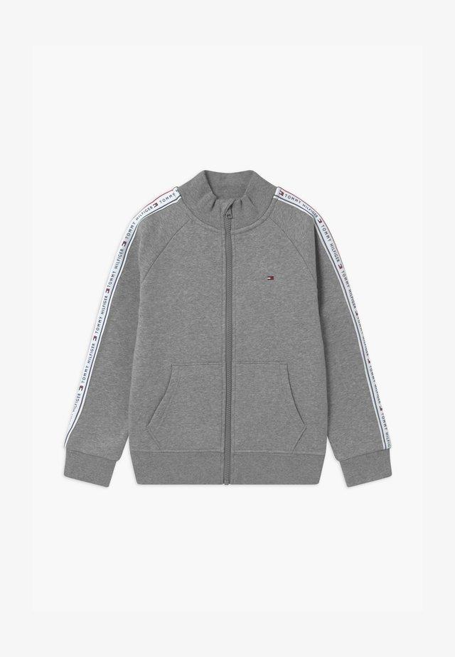 TAPE FULL-ZIP - veste en sweat zippée - grey