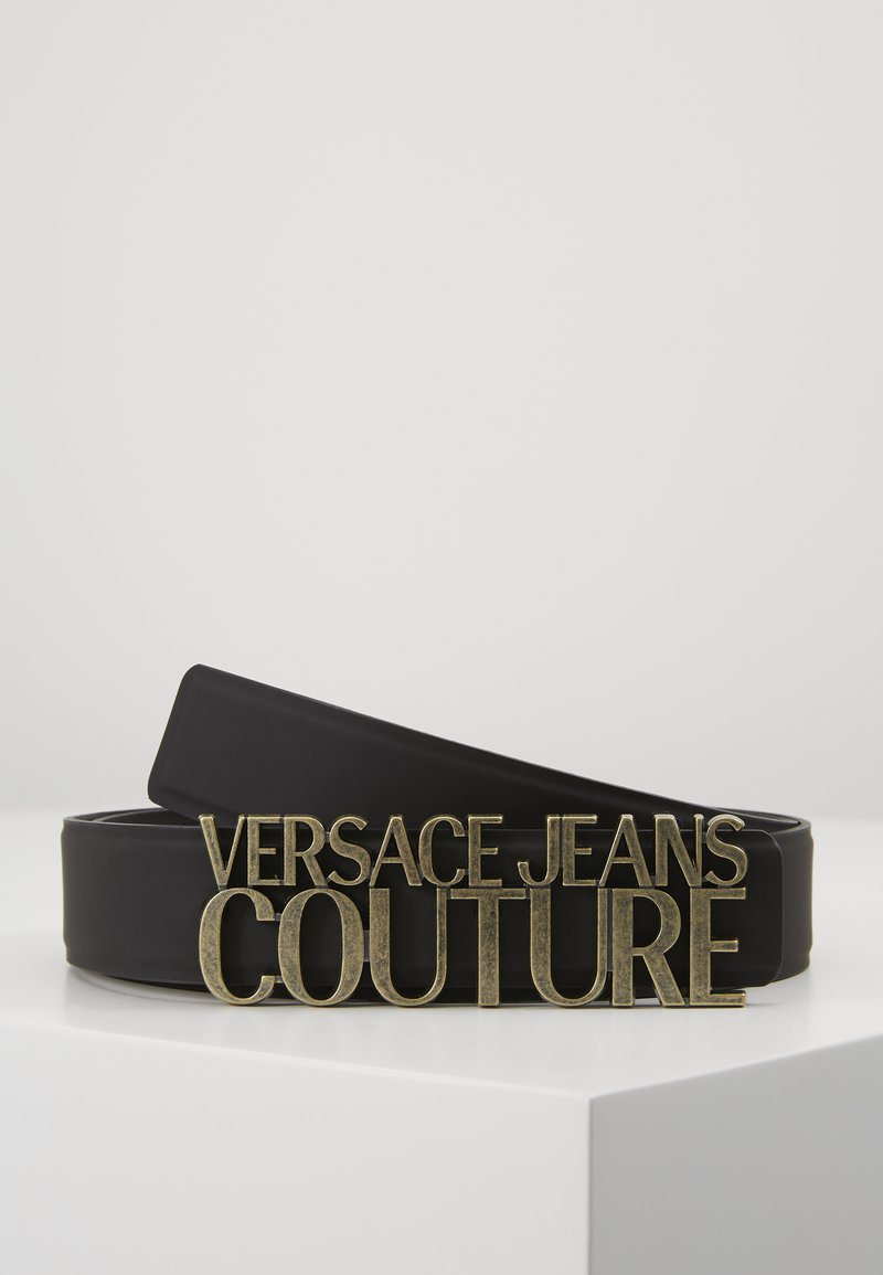 Versace Jeans Couture - COUTURE LOGO BELT - Pasek - nero