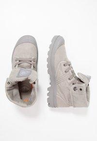 Palladium - VEGAN PALLABROUSSE BAGGY - Lace-up ankle boots - titanium/high rise - 1