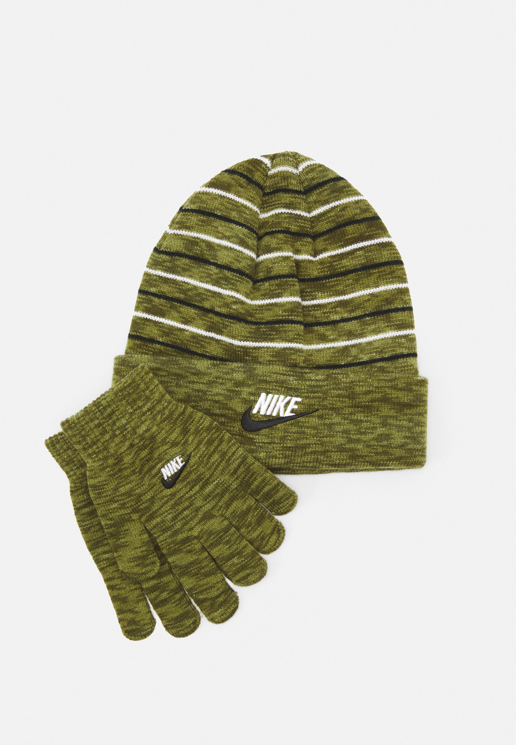 Kids SPACE DYED BEANIE AND GLOVES SET UNISEX - Beanie