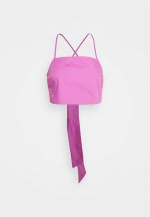 LORELAI - Top - bodacious pink