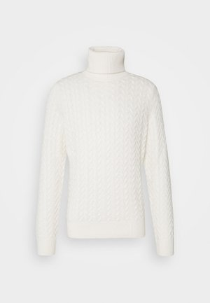 CABLE TURTLE - Strikpullover /Striktrøjer - bone