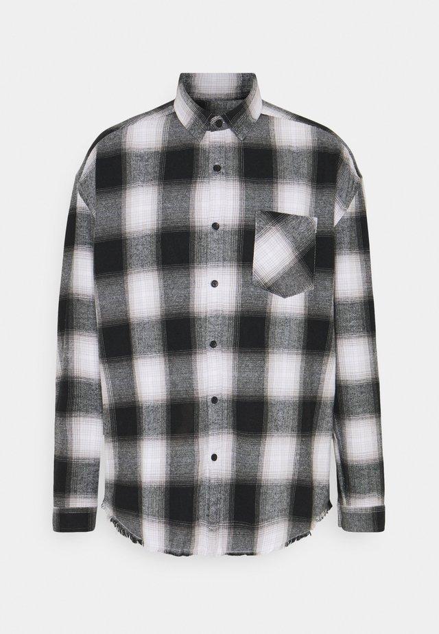 APPLIQUE CHECK - Koszula - white