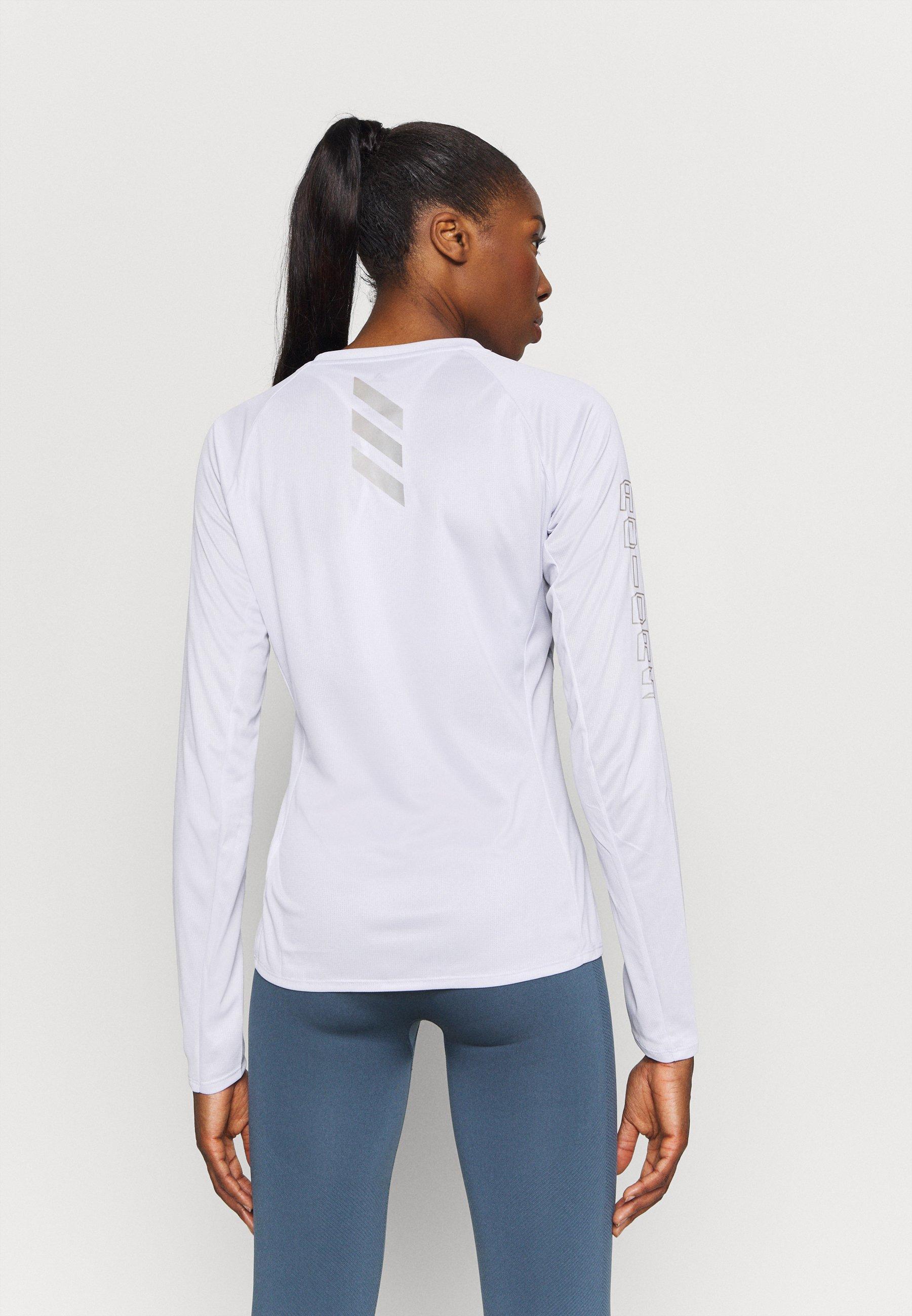 adidas Performance REFLECTIVE - Sports shirt - grey 1Z2kU