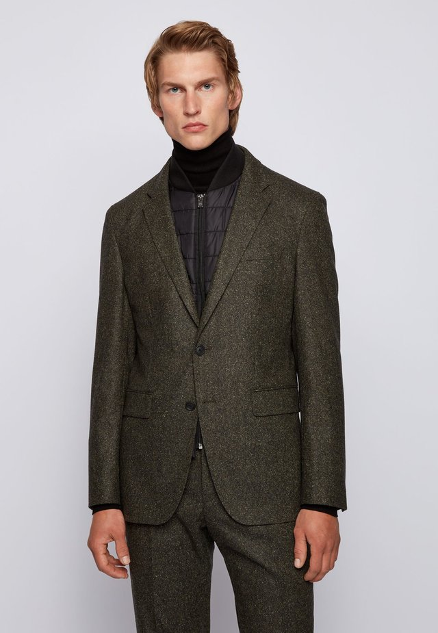 Suit jacket - open green
